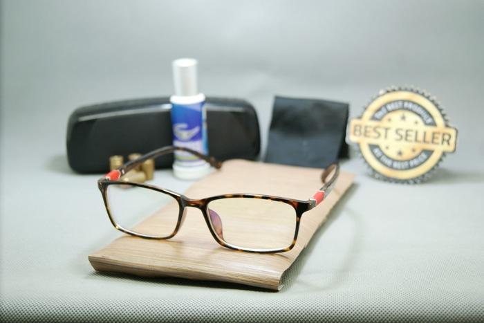 Best Promo!  kacamata korea bening gratis lensa Low Price!