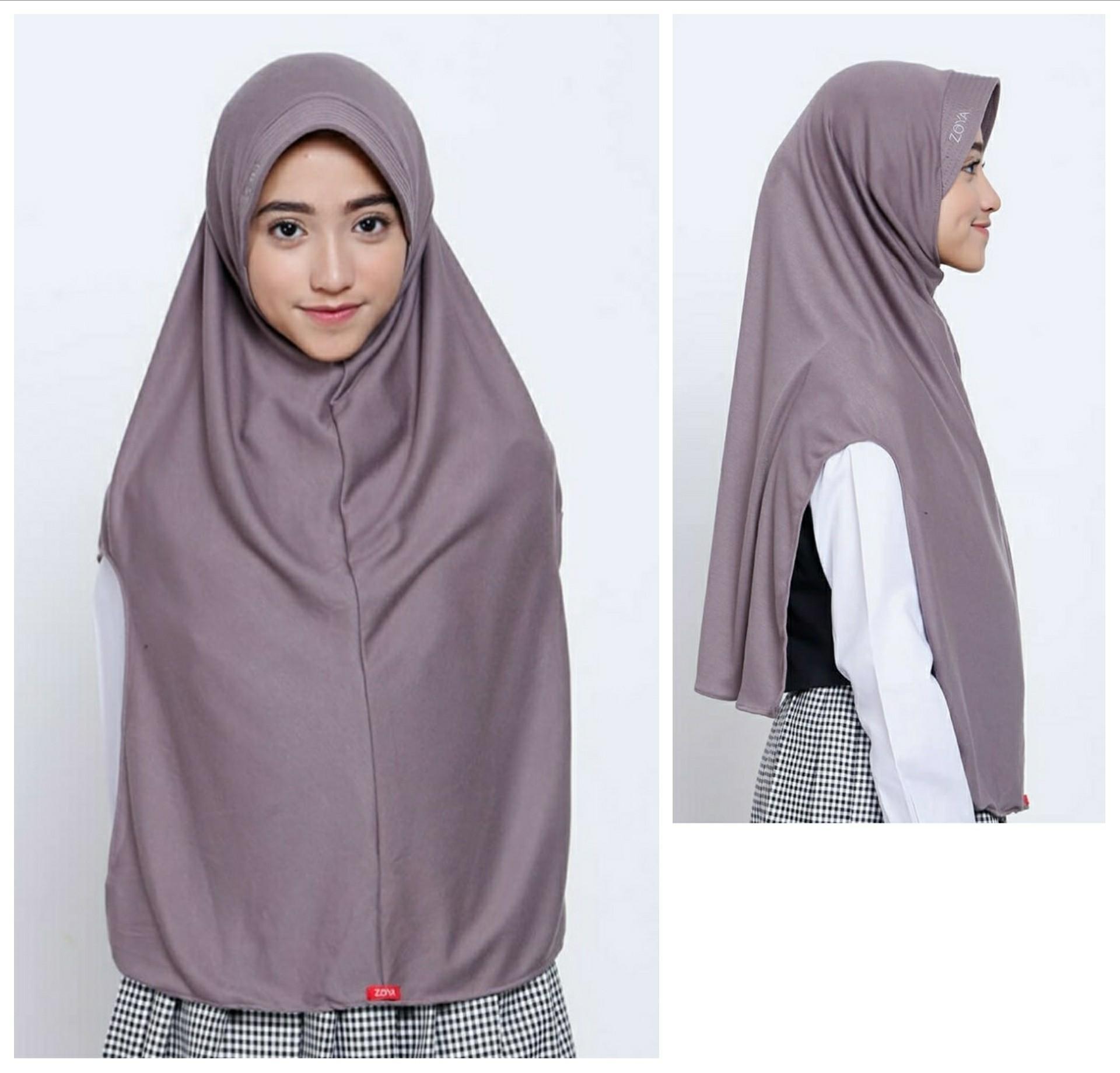 ZOYA Jilbab Hijab Instan Kerudung Bergo Untuk Remaja dan Dewasa