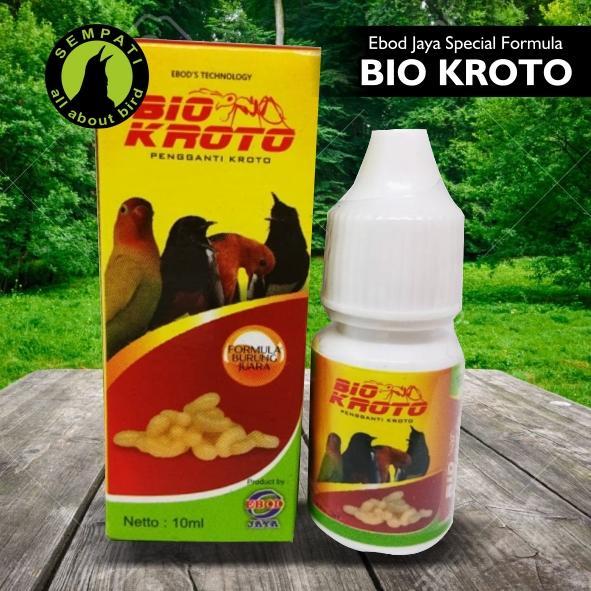 Bio Kroto Ebod Jaya Vitamin Burung Meningkatkan Ranjin Kicau Untuk Burung Lovebird Kenari Kacer Murai Jadi Gacor