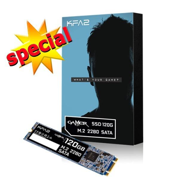 SSD M2 2280 GALAX Gamer 120GB - M2 GALAX 120GB