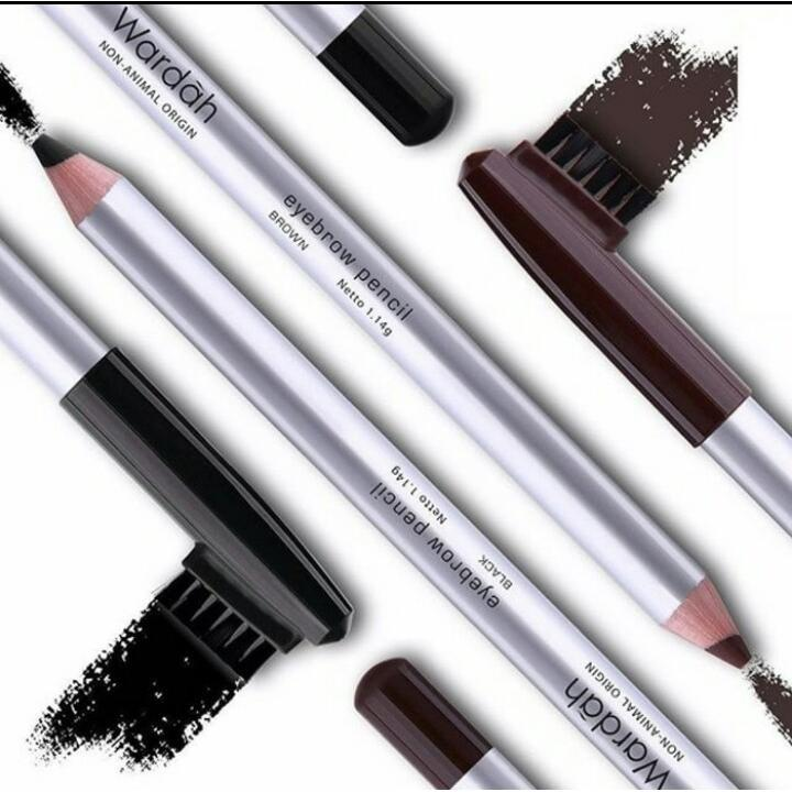 Wardah Eyebrow Pencil - Pensil Alis Sikat