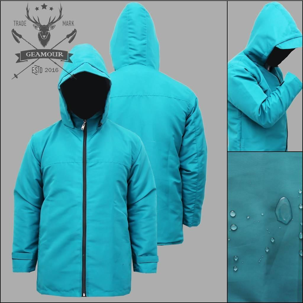 Jaket Hujan /Taslan /Jaket  100 % Anti Air (Waterproof) Pria Or Wanita