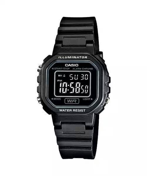 Jam Tangan Casio LA20WH-1BDF Original Garansi Resmi