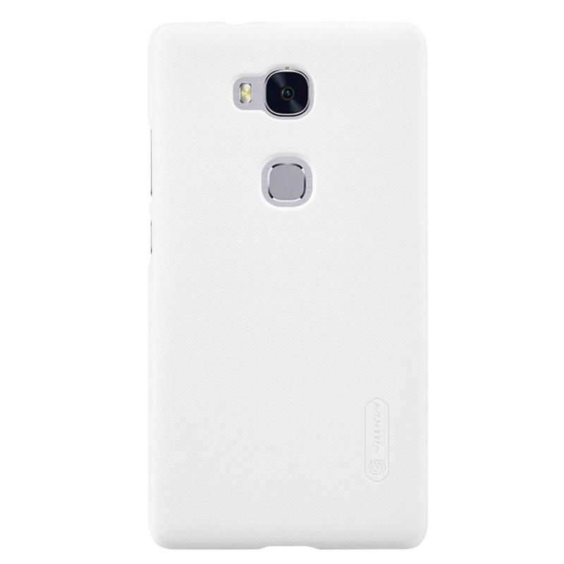 Nillkin For Huawei Honor 5X Super Frosted Shield Hard Case Original Putih + Gratis Anti Gores