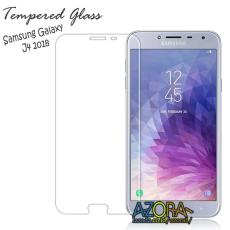 Tempered Glass Samsung Galaxy J4 2018 Screen Protector Pelindung Layar Kaca Anti Gores - Bening