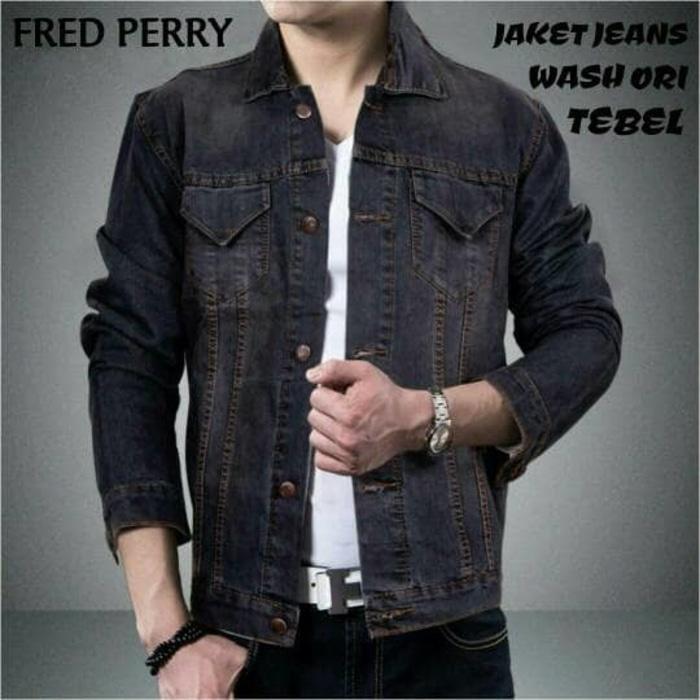 PROMO!!! Kemeja Jeans FRED PERRY - 5Rga9G