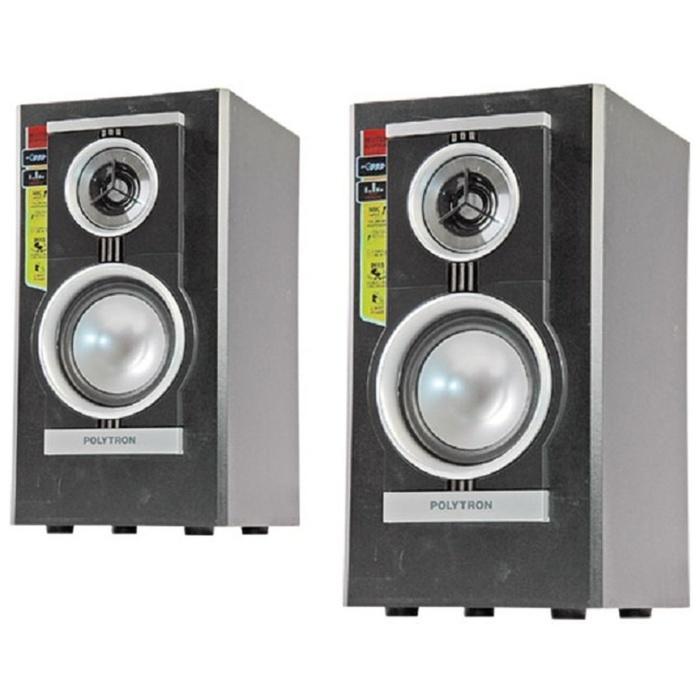 Referensi Polytron PAS21B Speaker Aktif - Hitam speaker aktif / speaker laptop / speaker super bass