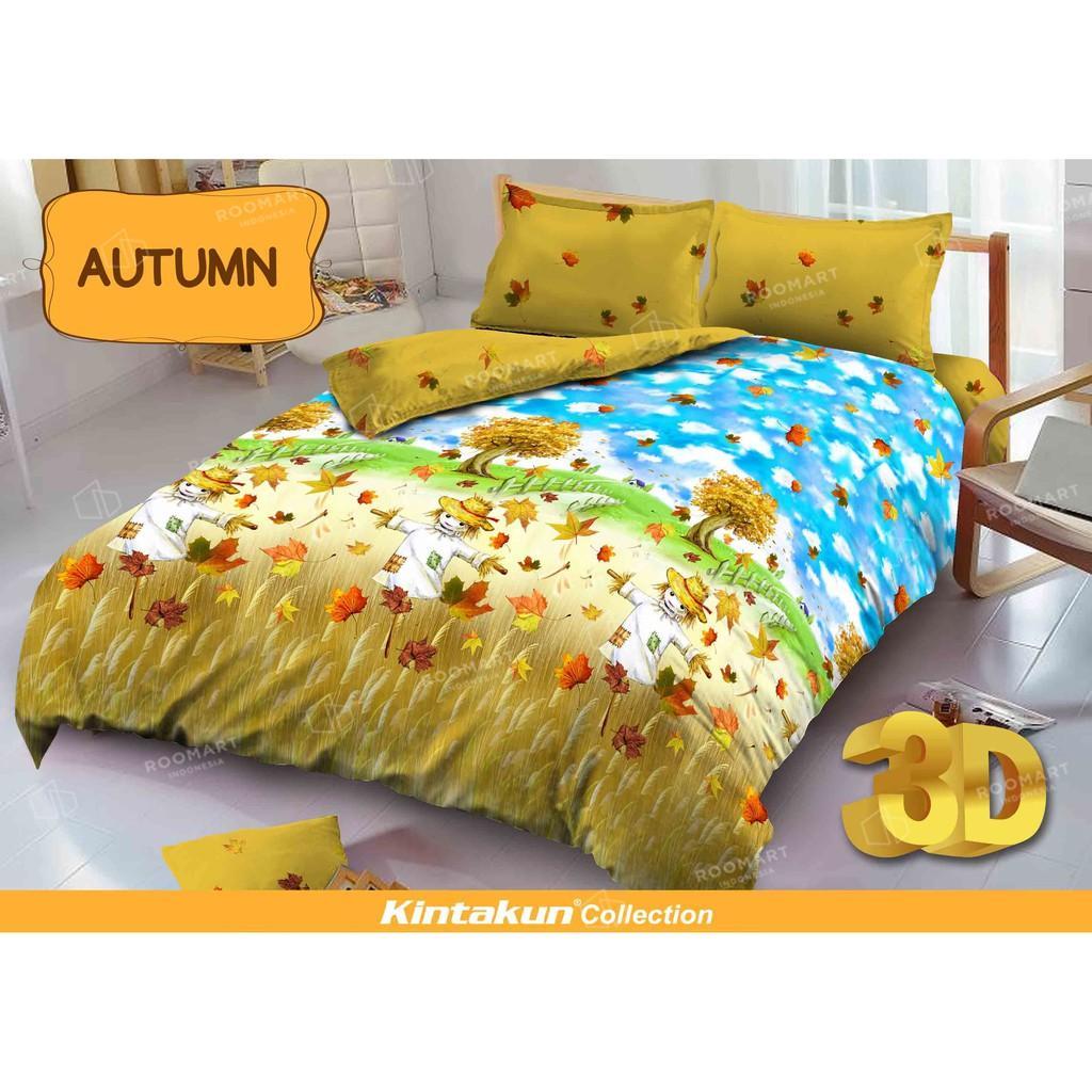 Hg Kintakun Dluxe Sprei King Motif Autumn 180x200 Cm Daftar Harga Uk Spiderman Diskon Bed Cover Deluxe Ukuran Bonita
