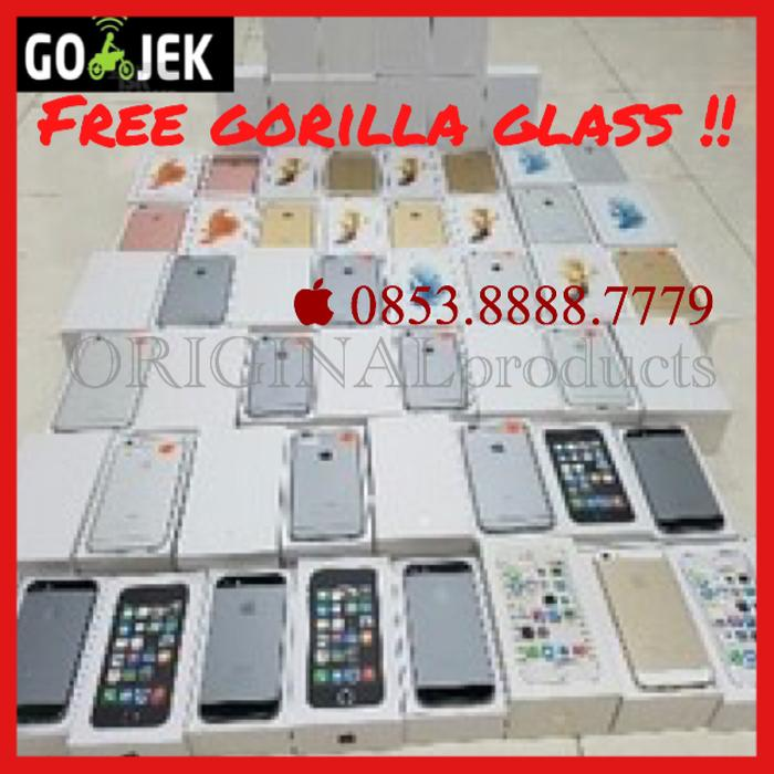[NEW] iphone 6+ iphone6+ plus 64gb gold silver grey garansi 1 tahun