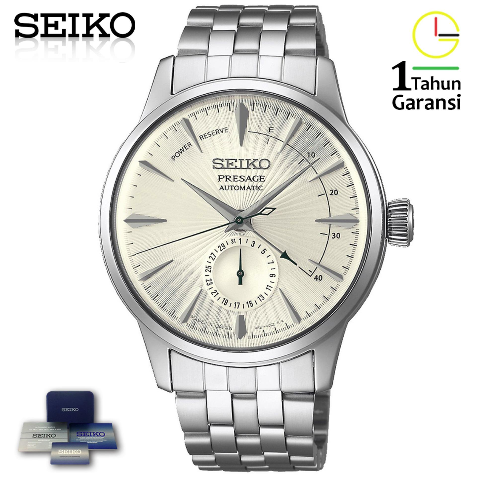Buy Sell Cheapest Seiko Presage Srpb43j1 Best Quality Product Automatic Jam Tangan Silver Ssa257j1 Ssa341j1 Martini Cocktail Stainless Steel Strap