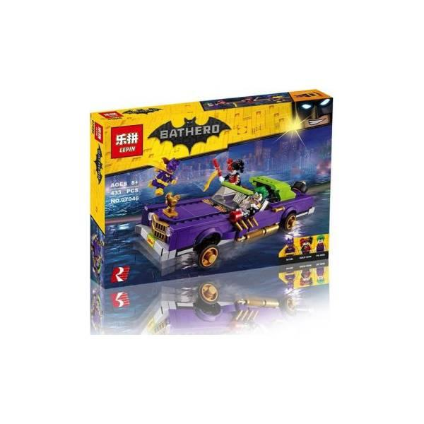 TERMURAH Bricks 07046 Batman Movie The Joker Notorious Lowrider Hadiah Ulang Tahun
