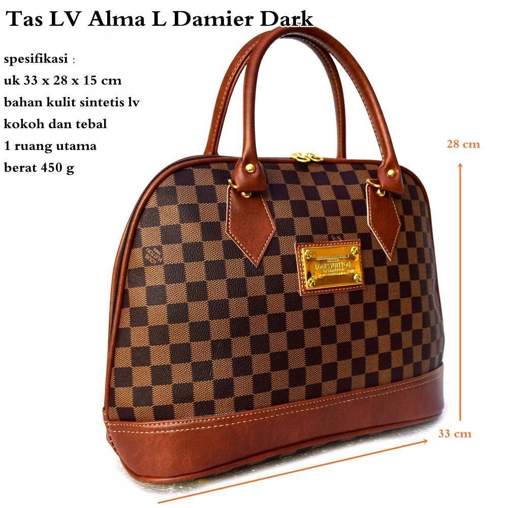 New Ransel Tas Lv Import Res Tgh Damier Daftar Harga Wanita Bl80536 Fashion Backpack Source Rp 85000
