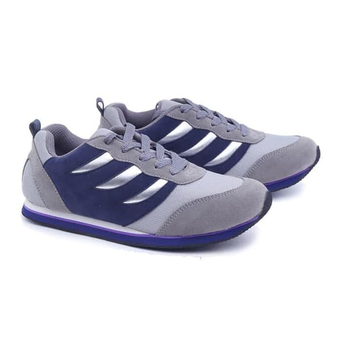 Sepatu wanita/sepatu cewek Sepatu Olahraga Wanita Grey Sneaker Sepatu Sport Perempuan Kets model terbaru keluaran terbaru harga murah kualitas bagus warna abu