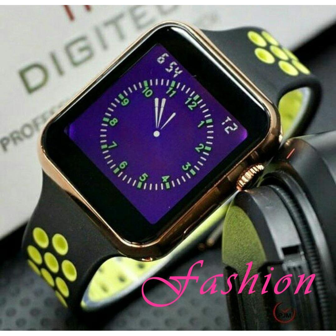 Digitec - LED DG 3050 - Jam tangan Pria - Wanita - Rubber strap - Exclusive Design Sporty