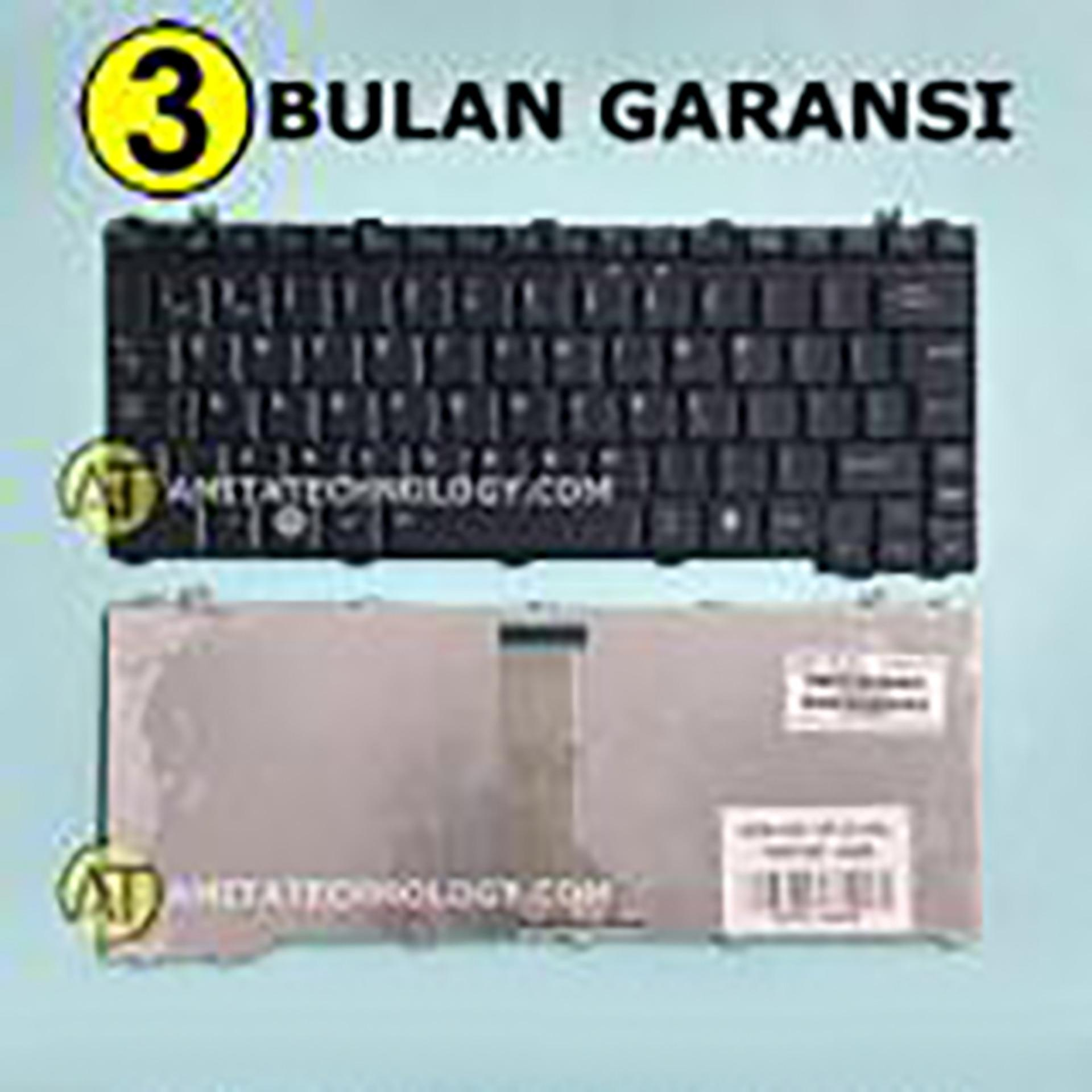 Keyboard Laptop ORIGINAL Toshiba U400 U500 M300 M800 T130 T135 A600