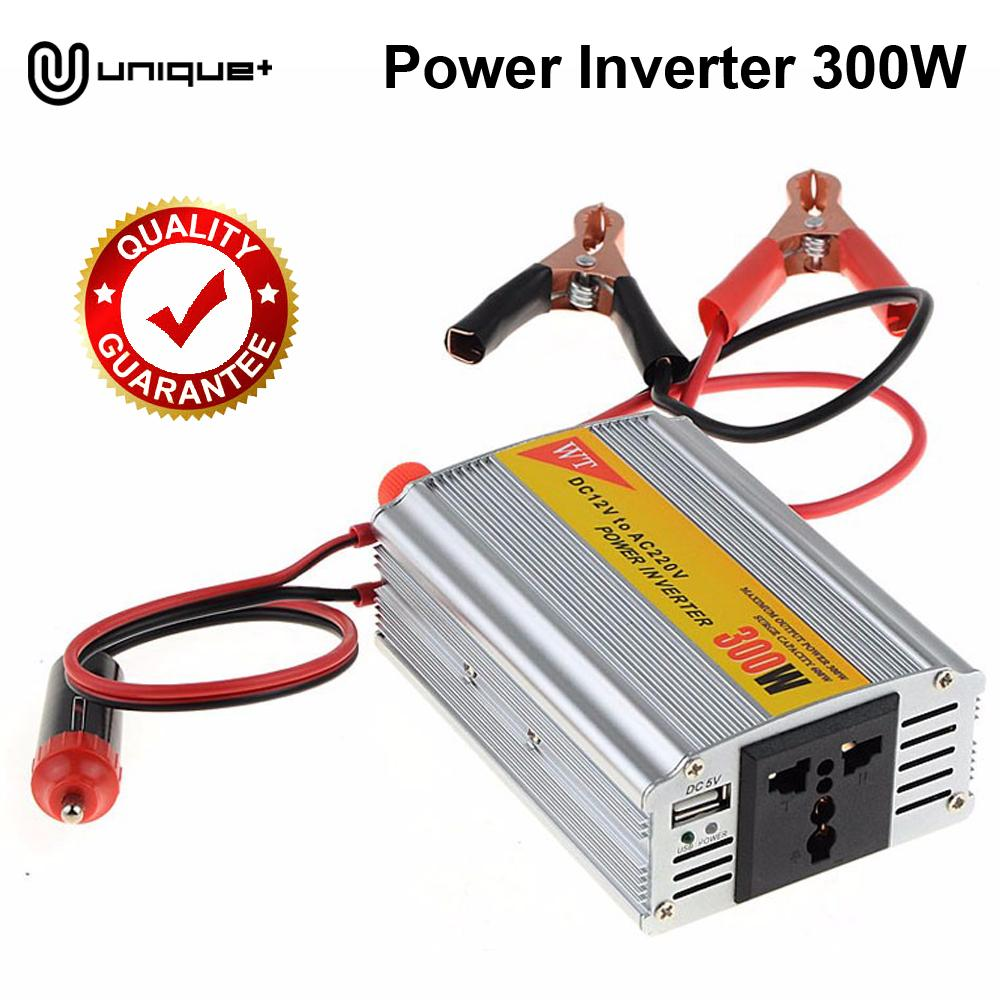 Unique Car Charger Power Inverter 300W - Power Inverter 300W DC 12V to AC 220V 5V Port Charger USB
