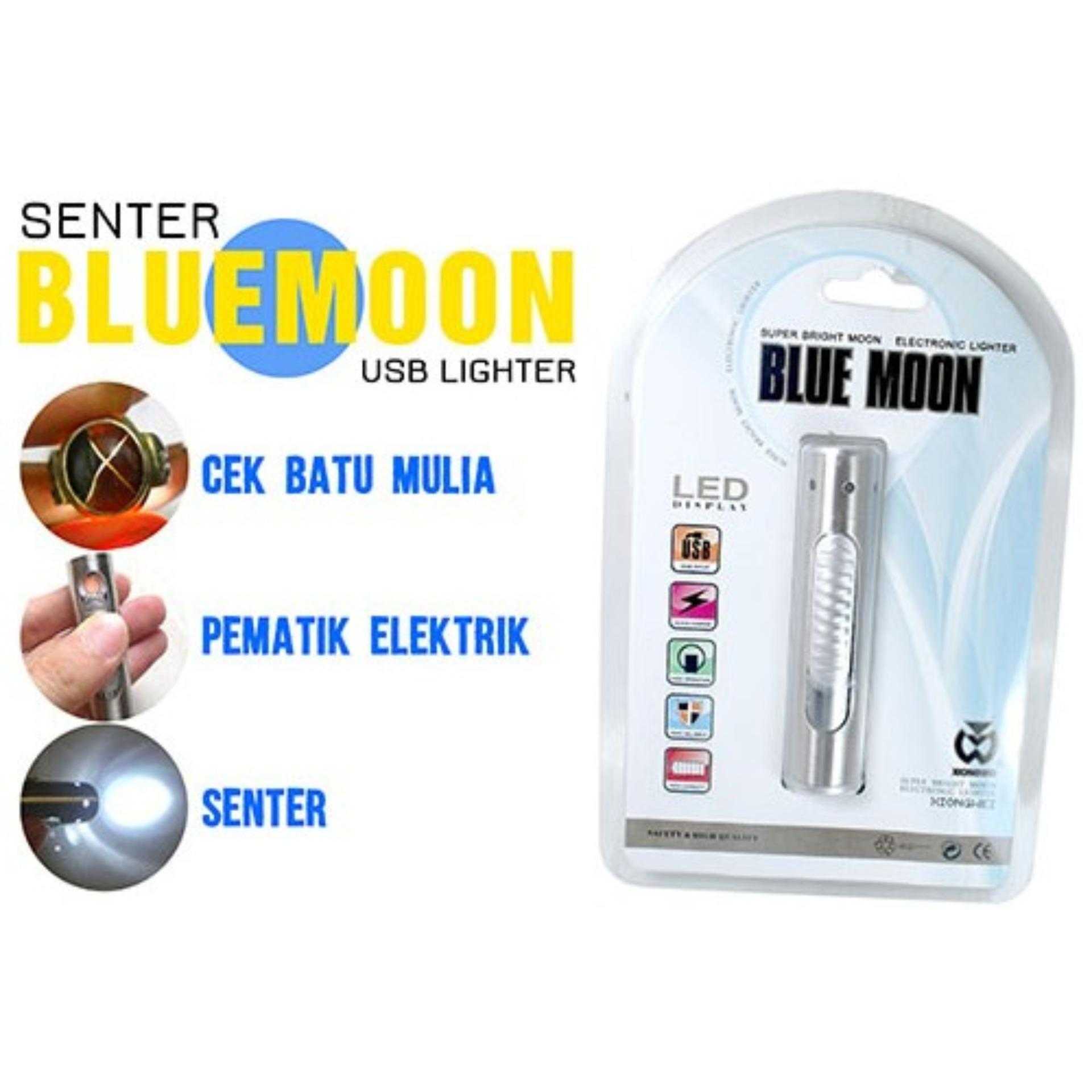 ... Elektrik Lighter USB Anti Angin - Random Color. Source · OHOME Korek Api USB Anti Angin Senter LED Rechargeable Blue Moon - TOX