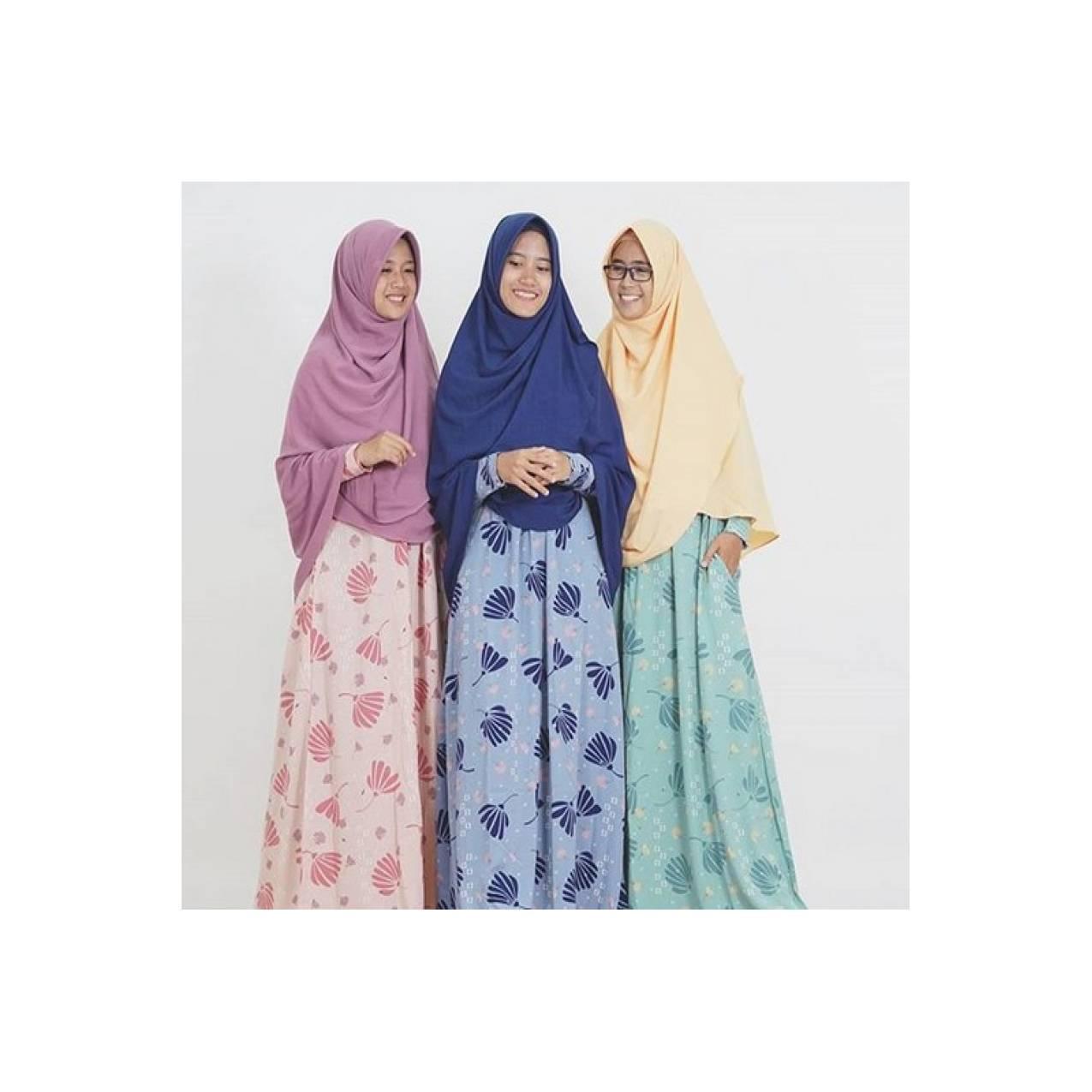 Gamis Autumn Set Hijab Alila