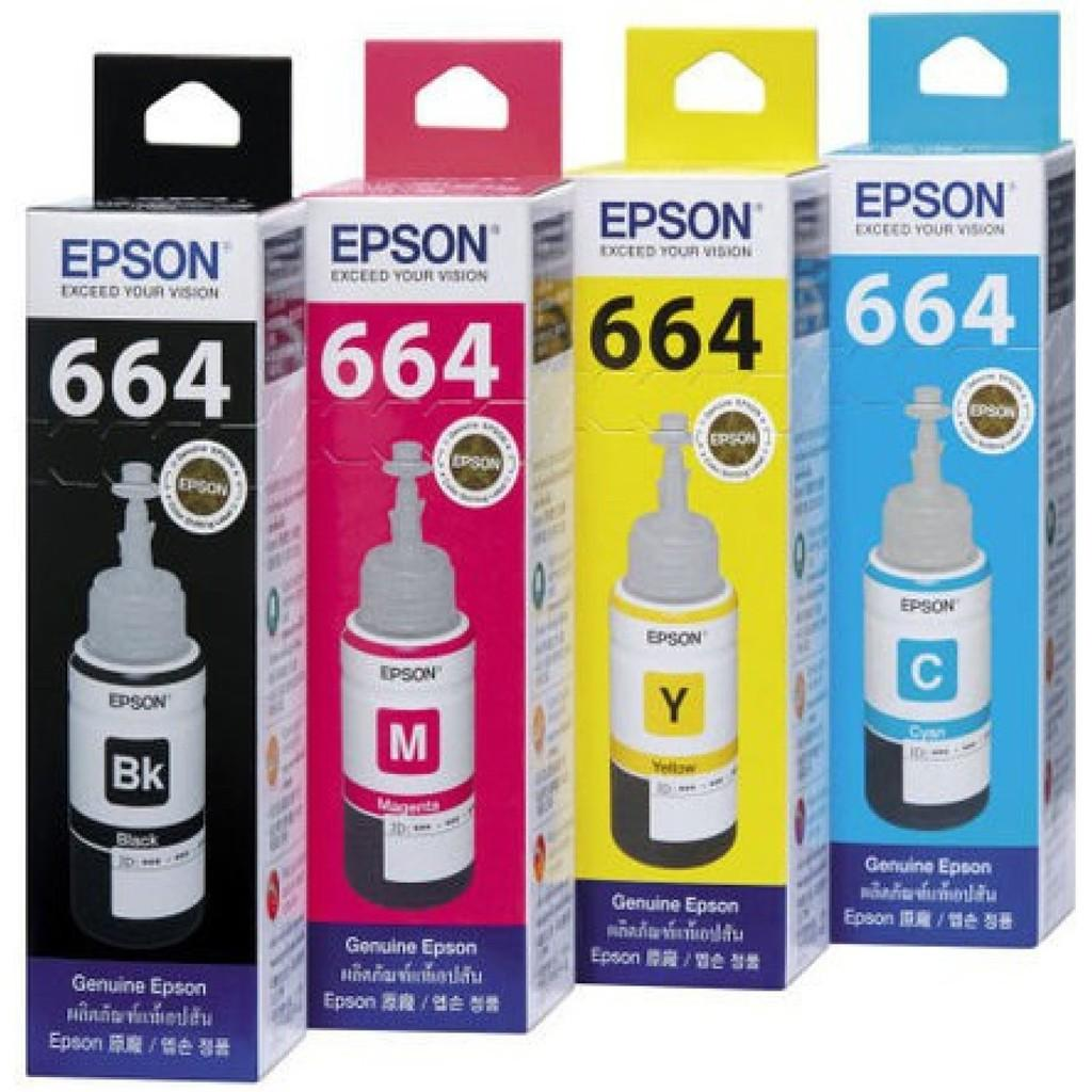 Buy Sell Cheapest Tinta Epson 664 Best Quality Product Deals T6641 Black Original