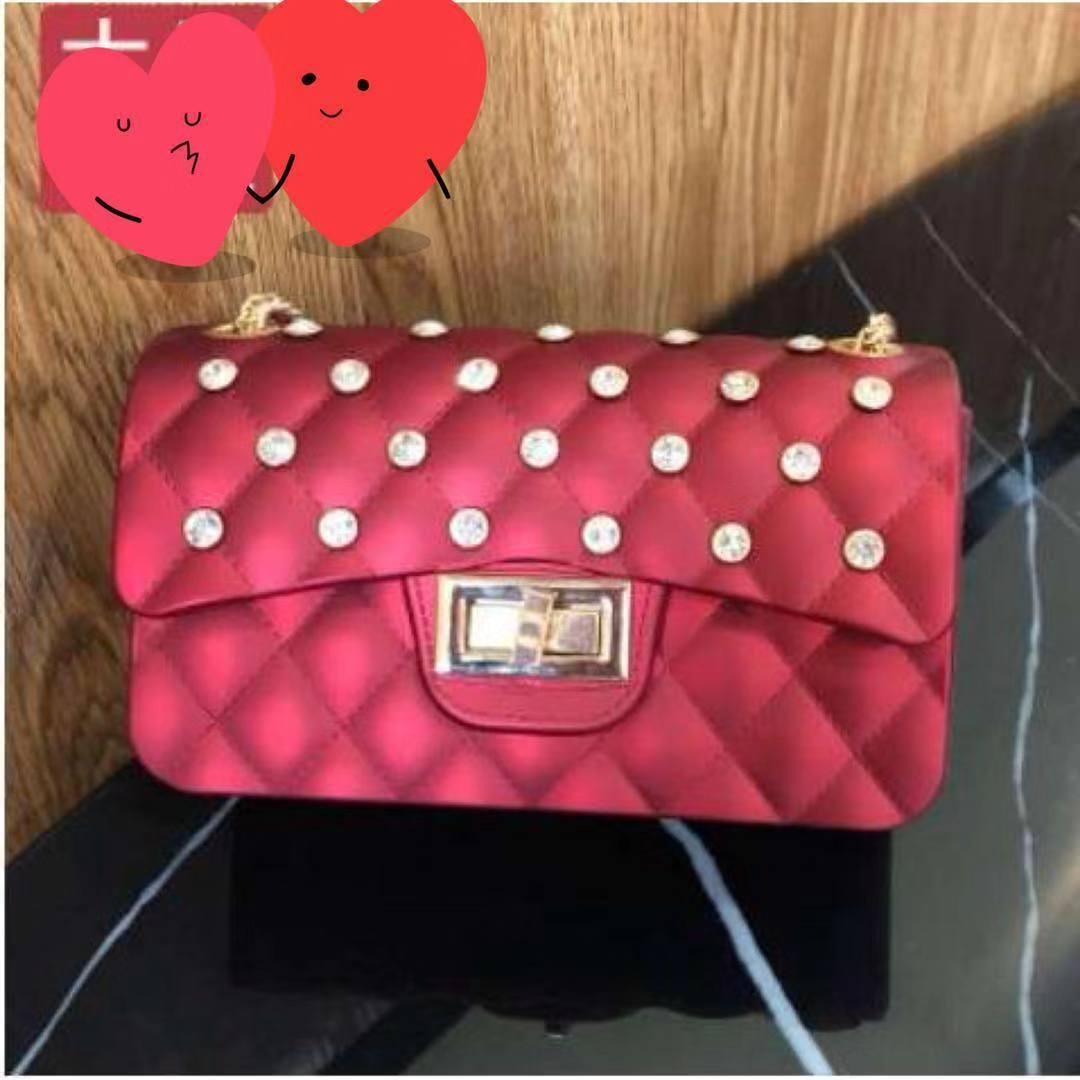 82f8838d168 sale promo Tas Jelly Matte Diamond/Tas Selempang Jelly Matte Diamond Rantai  Gold/Real