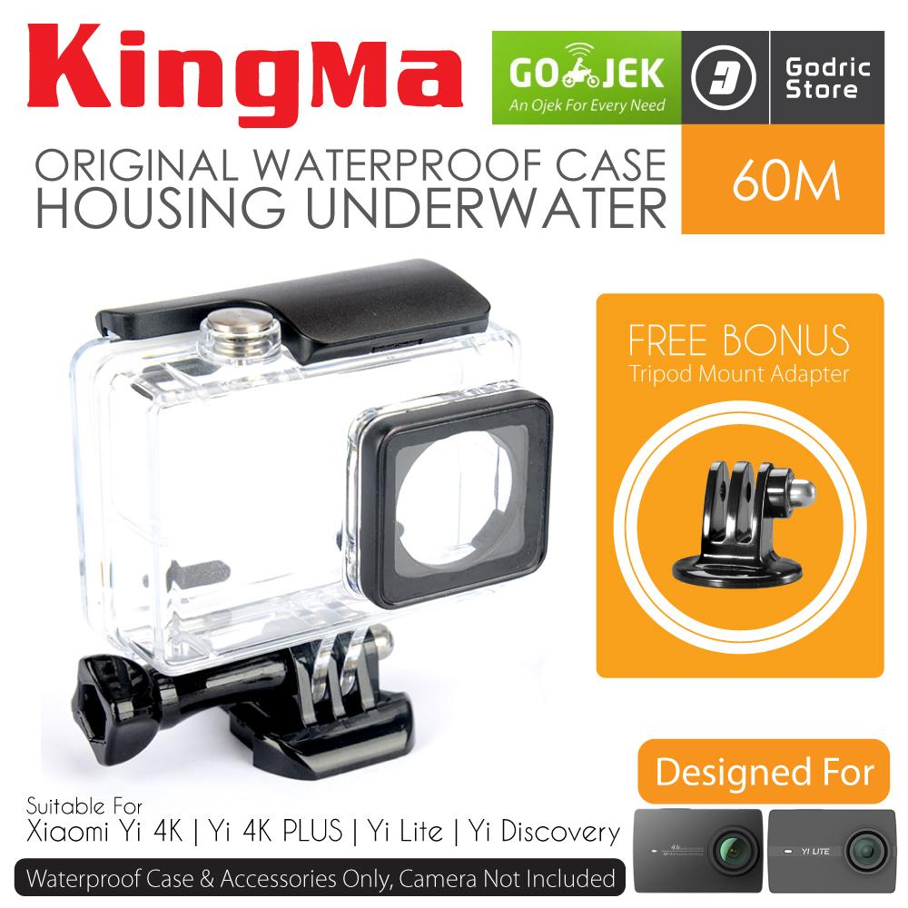 KingMa Original Waterproof Case for Xiaomi Yi 4K / Yi 4K PLUS / YI LITE /