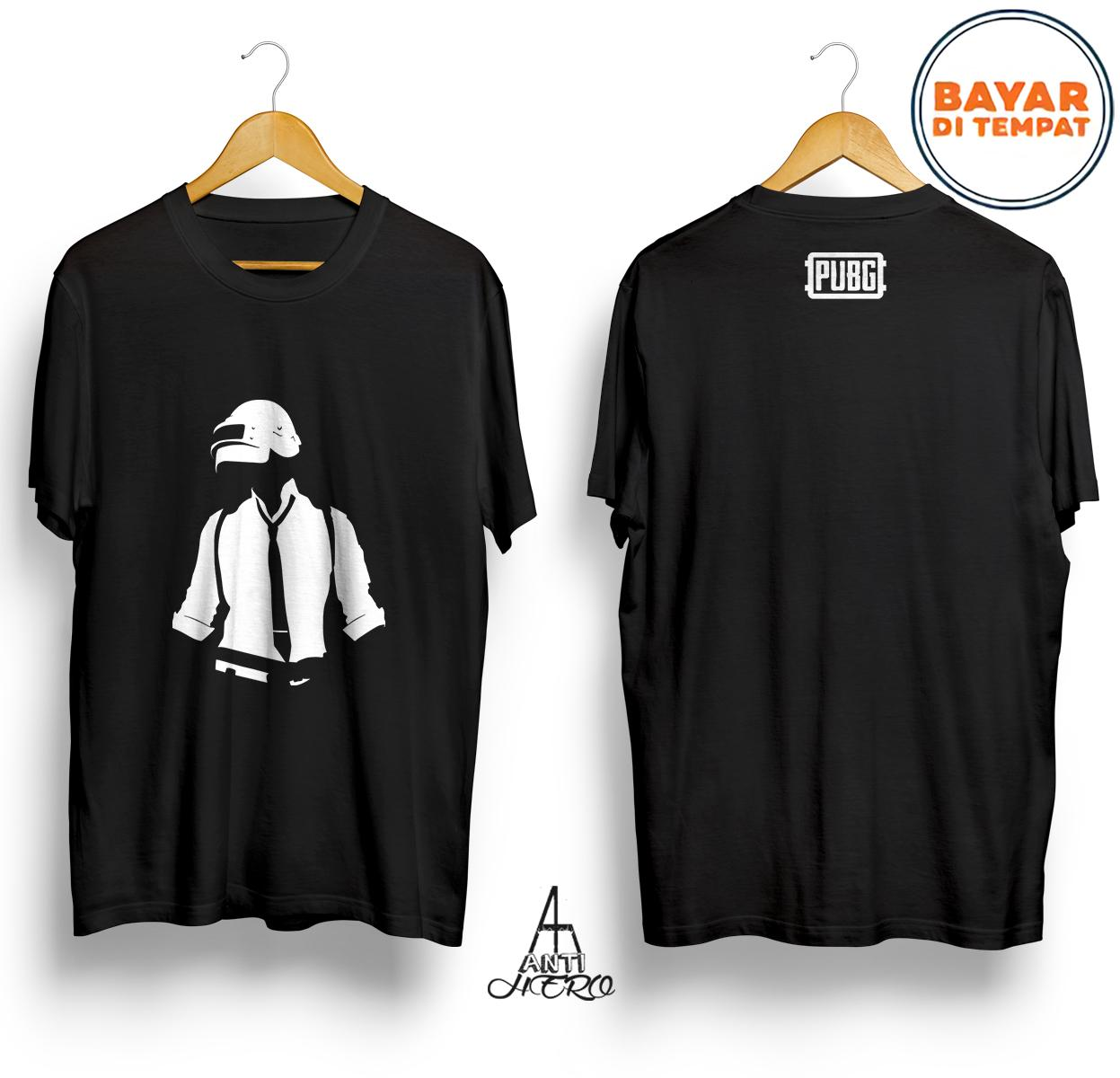 Antihero Baju Kaos PUBG MAN E SPORTS MOBILE - HITAM