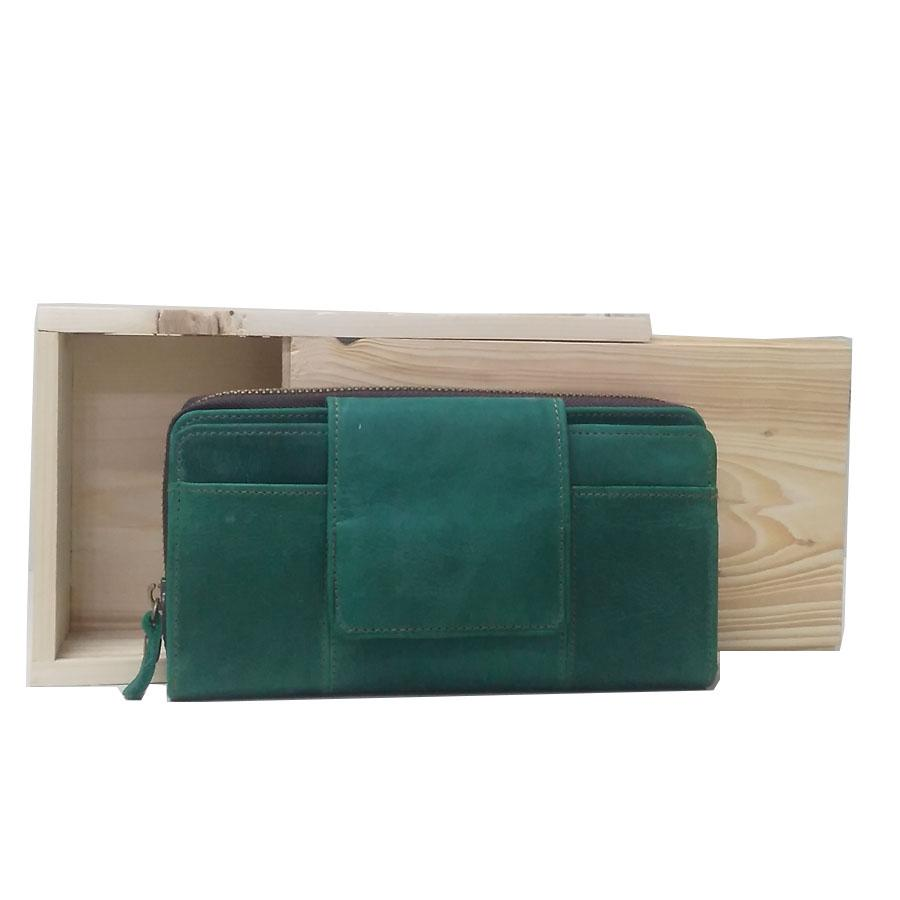 LIN S Craft Dompet Kulit - Dompet Wanita Polos Pull UP New - DD e66a325a3c
