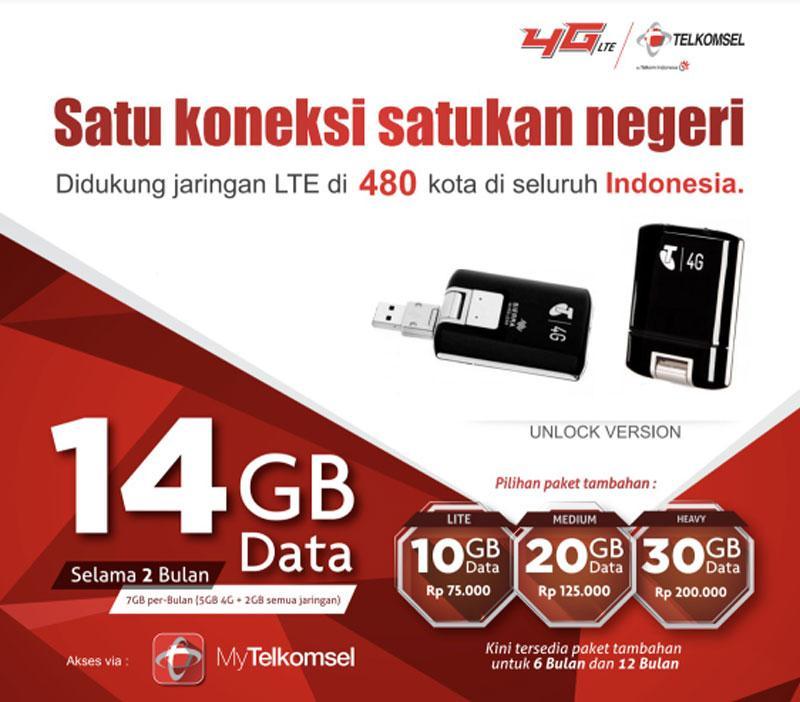 Sierra 320u - Modem GSM USB 4G LTE 100Mbps FDD 1800 - Hitam