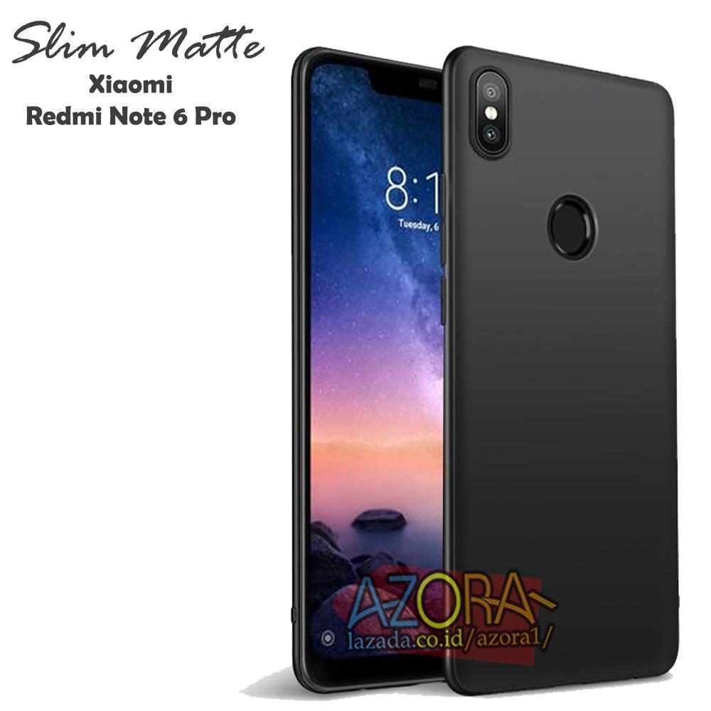 Case Slim Black Matte Xiaomi Redmi Note 6 Pro ( 6.26 Inch ) Baby Skin  Softcase 6abe1a750c