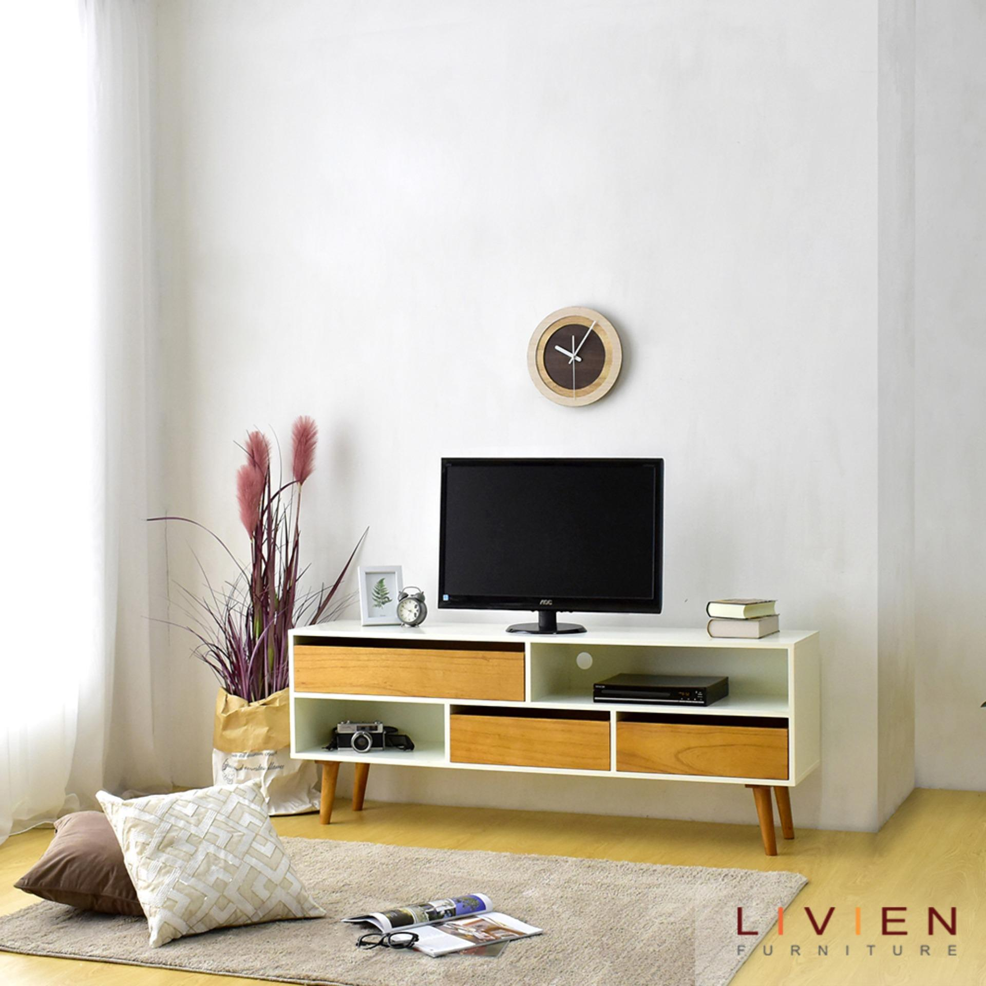 Spek Harga Kirana Furniture BF 828 WO Rak TV - Beige Terbaru. Source · LIVIEN