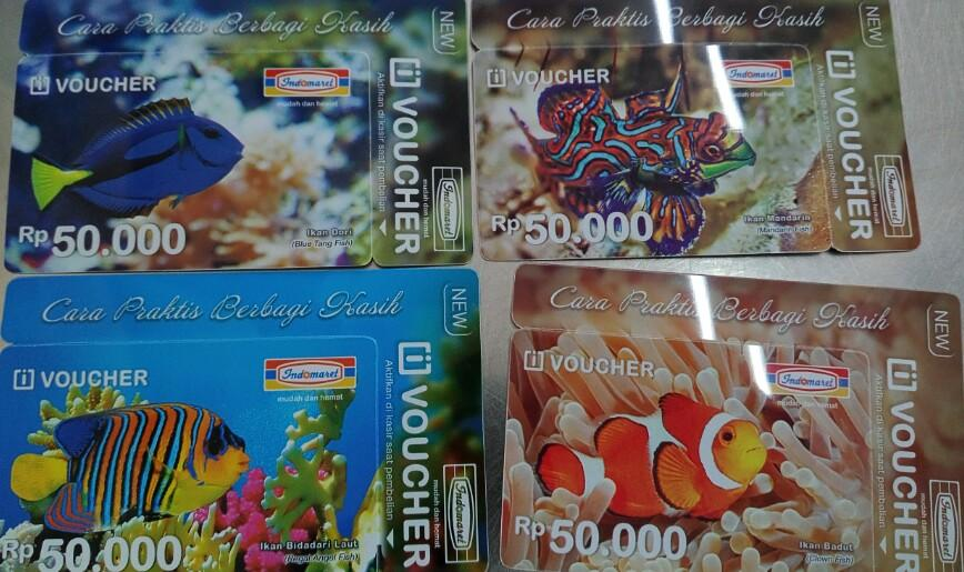 Voucher indomaret 50rb