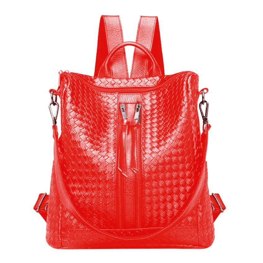 Fashonity Women Korean Hobo Backpack 0900 variant - Tas Ransel Multifungsi - Tas wanita