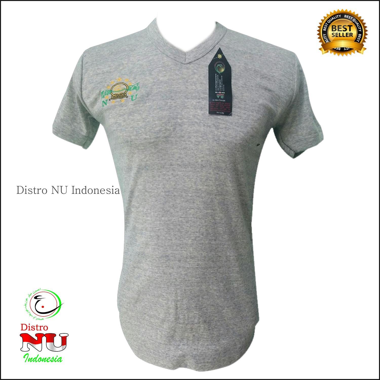 Kaos NU Bordir Full Body All Size // Shirt sarung bendera merah putih banser ippnu