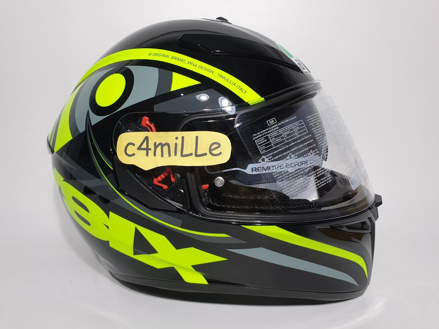HELM AGV K3 SV TOP SOLUN 46 DOUBLE VISOR FULL FACE SIZE M