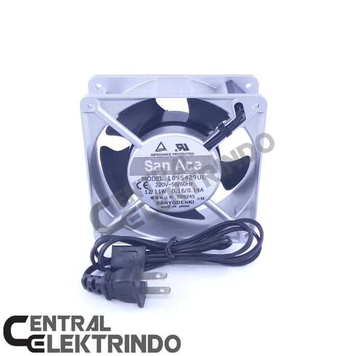 Hot Item!! Fan Ac Bearing 12 Cm San Ace 24U002F7 Nonstop Japan Quality - ready stock