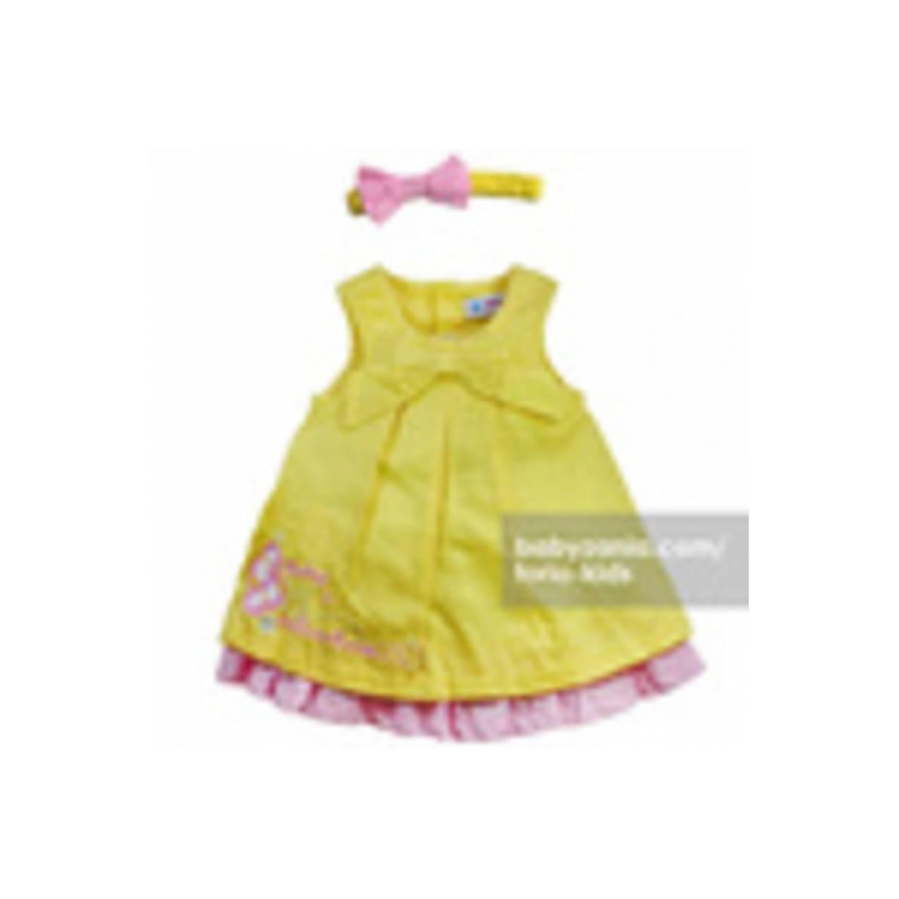 Torio Little Shoes Mini Dress Headband Accessories T2909