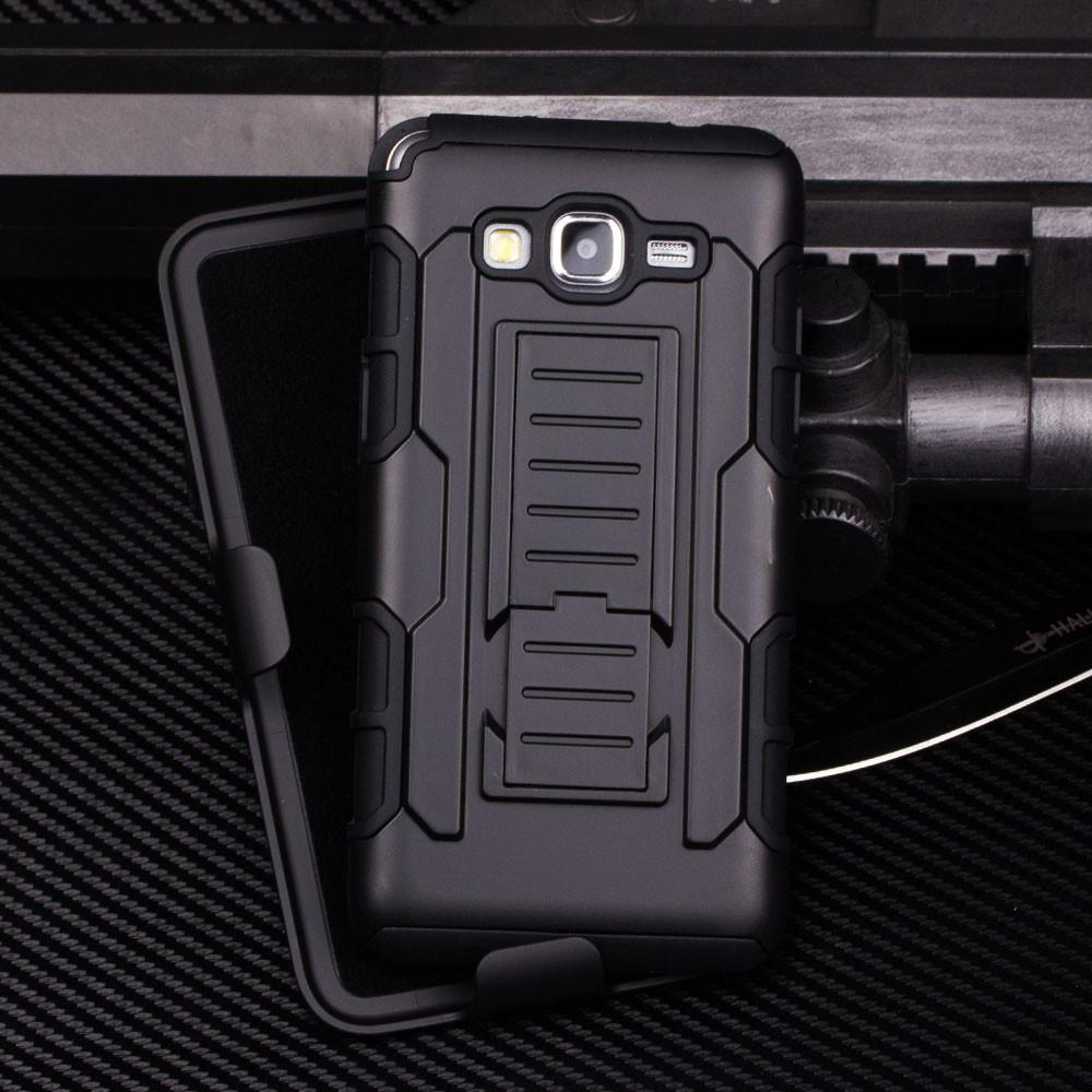FUTURE ARMOR Case Samsung Galaxy J5 2015 J500 Softcase Hardcase Casing Full Cover Belt Clip Anti