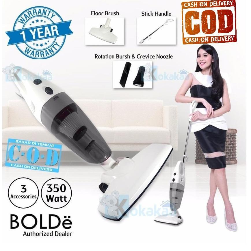 Bolde Super Hoover Turbo Vacuum Cleaner Vakum Vacum Penyedot Penghisap Blower Debu Grey 2 in 1 - T