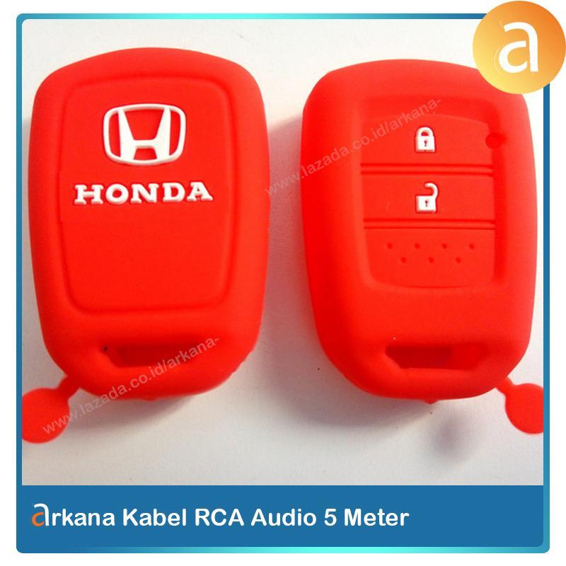 Arkana Silicon Kunci Honda BRV Mobilio New Brio HRV Silikon Sarung Remote Mobil Kondom Warna