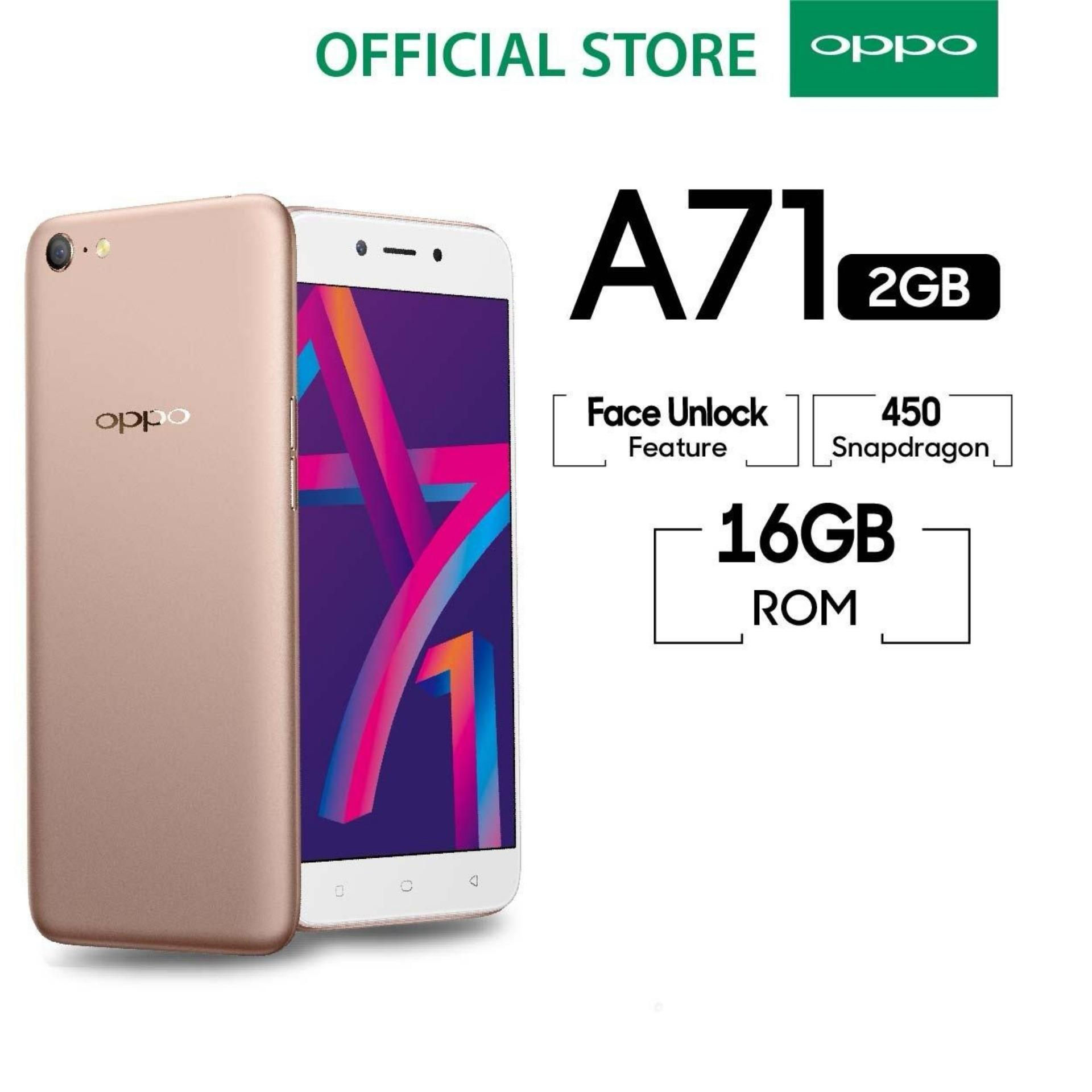 OPPO A71 ANDROID 7 1 NOUGOT 2 GB RAM 16 GB ROM