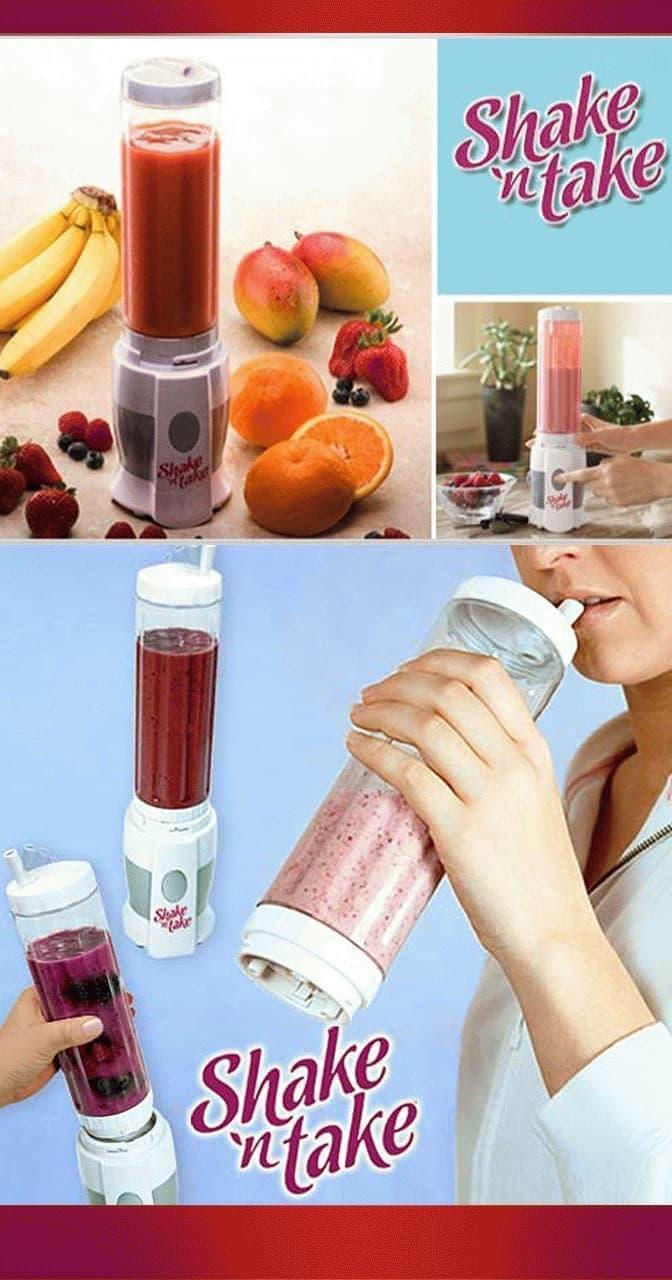 HARGA PROMO!!! Shake N Take 2 Cup Juice / 2 Gelas Blender Jus Murah - qV1XNt