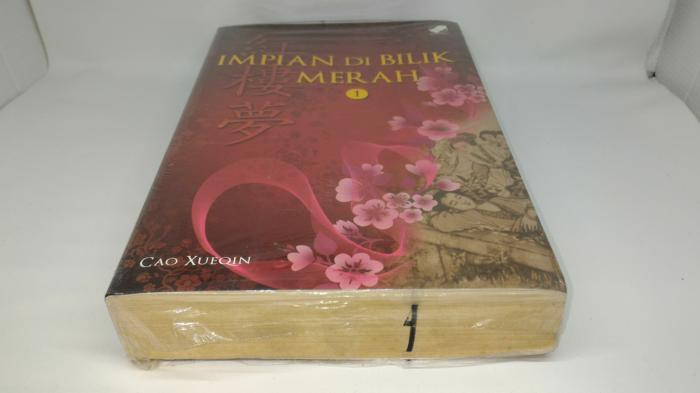 Novel Impian di bilik merah no 1 Cao Xueqin