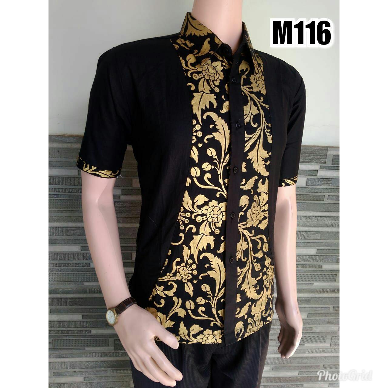 TERMURAH - Hem Batik Pria – Kemeja Batik - Baju Batik- Kemeja Pekalongan – Hem Batik Modern –