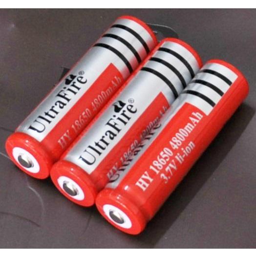 3 Pcs Baterai ULTRAFIRE Baterry Isi Ulang