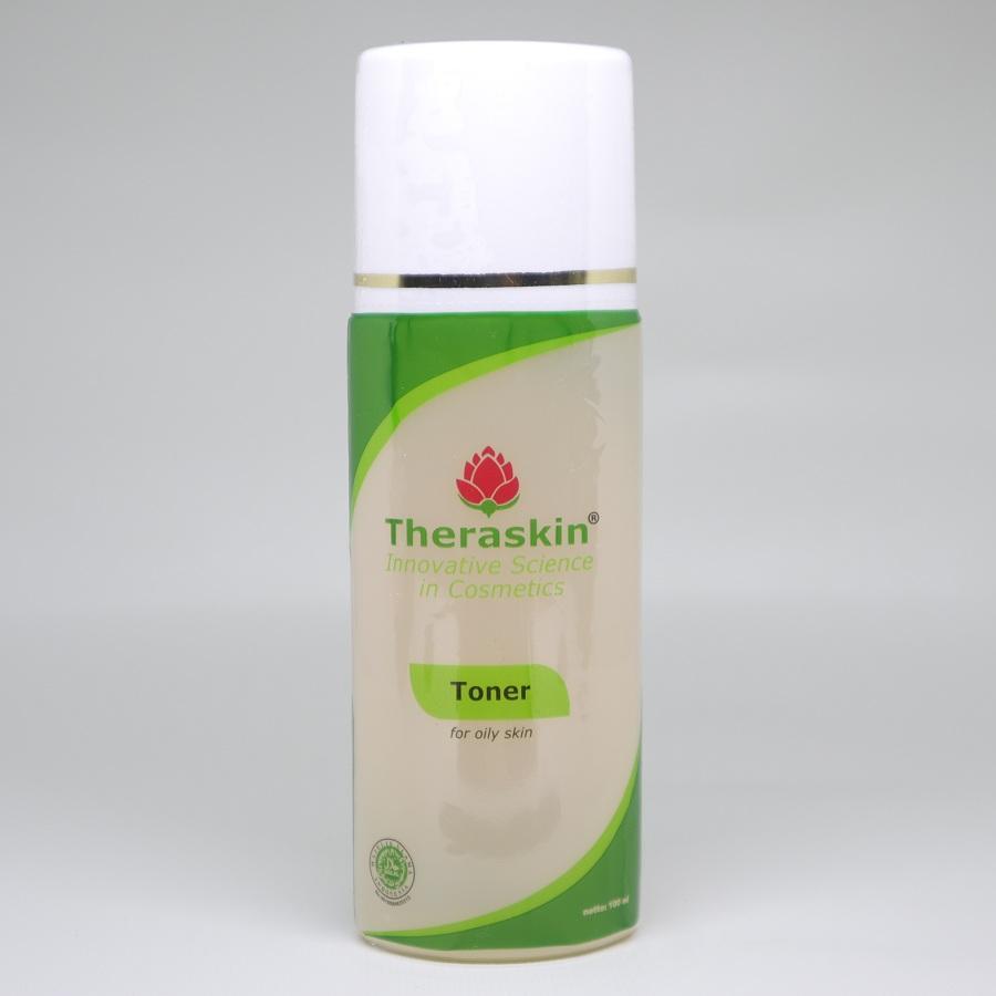 Theraskin Paket Oily Bpom Cream Wajah Untuk Kulit Berminyak Cek Normal Toner For Skin Care Skincare