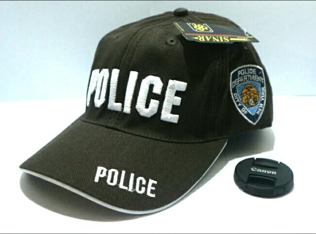 Topi Baseball Premium Police Militer Topi Bordir Tactical Quality Import