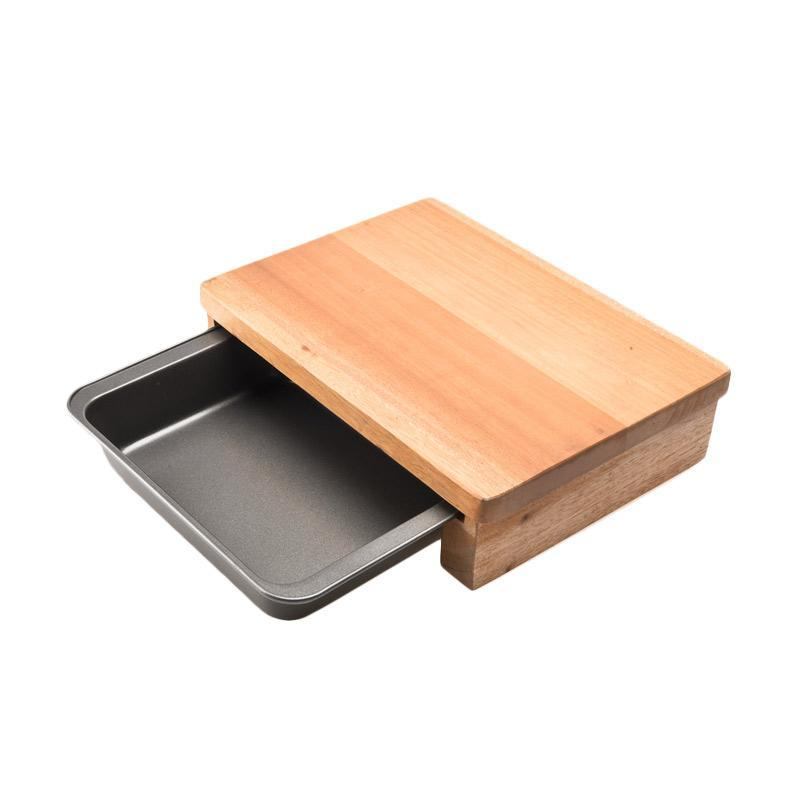 Cooks Habit Mini Cutting Board Mini with Toaster Broiler Set