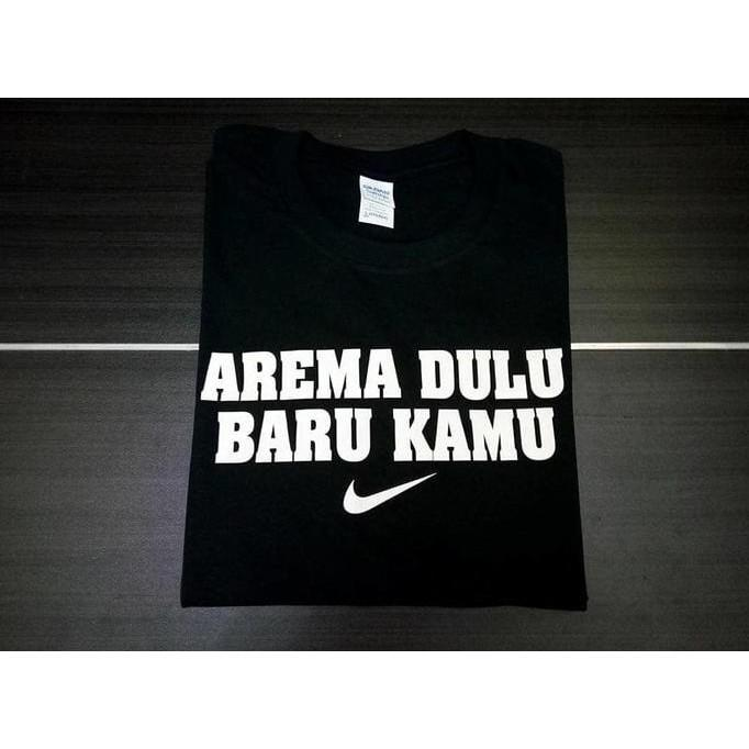 Kaos Tshirt Baju Combed 30S Distro Arema Malang Dulu Baru Kamu Jersey - Comjersey