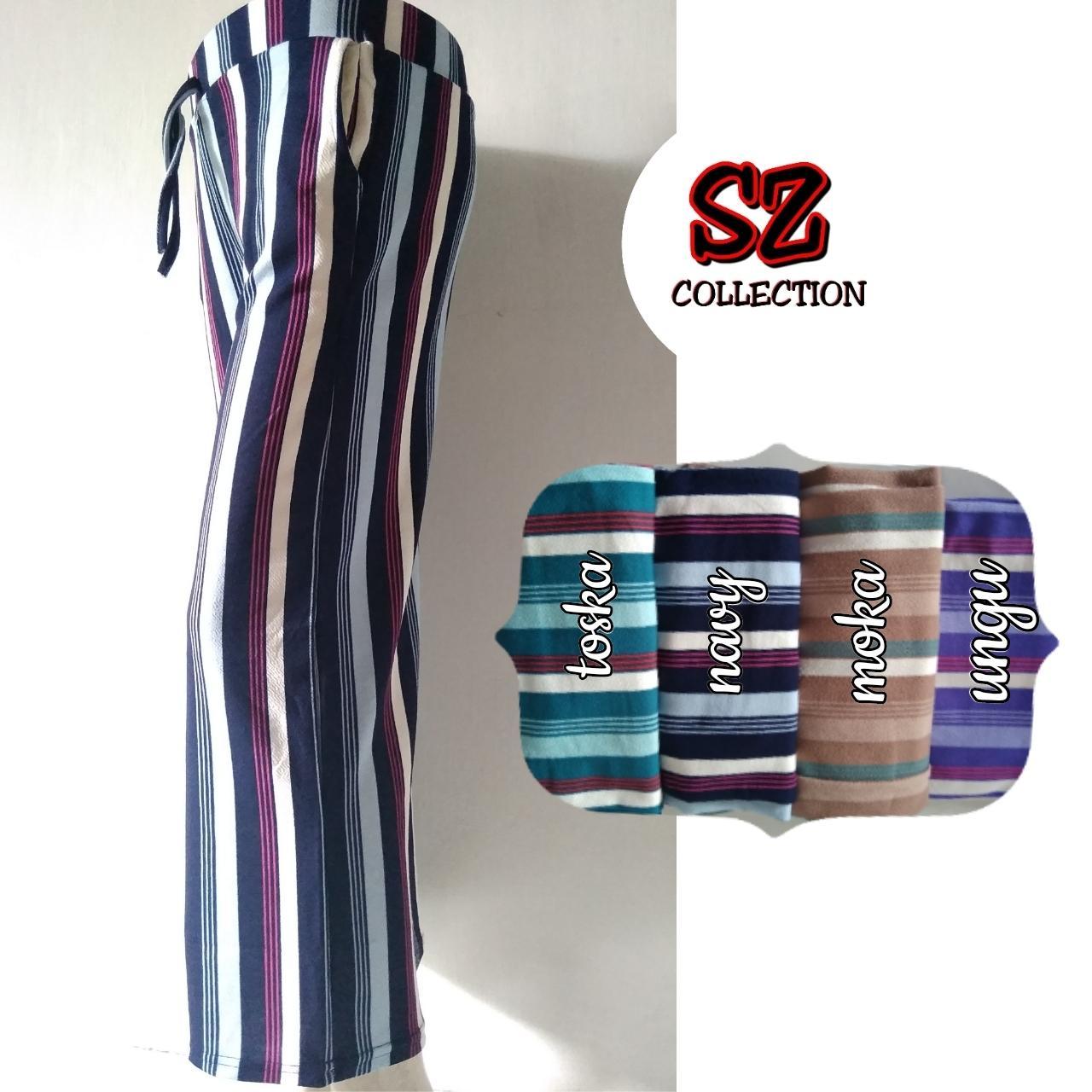 Celana Kulot Polos Panjang Standar Abu Tua Kaos Page 2 Zashiid Basic Pelangi Baru Terbaru