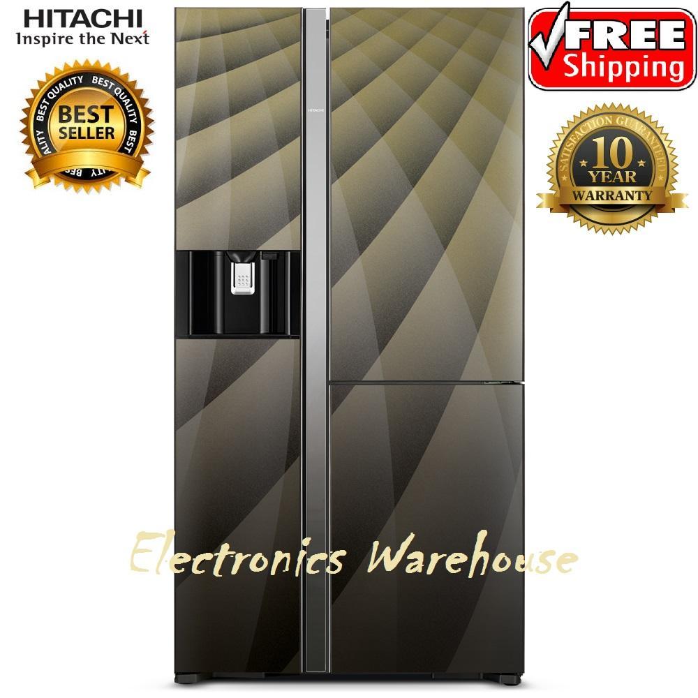 Hitachi Kulkas Made In Japan RM80AGPGD4XD-Diamond Luxury Series Free Ongkir Jabodetabek